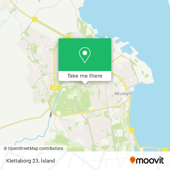 Klettaborg 23 map