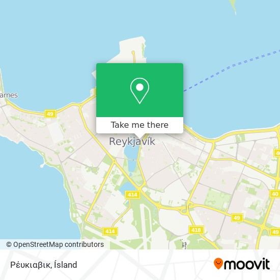 Ρέυκιαβικ map