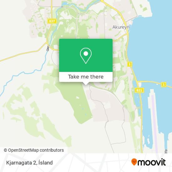 Kjarnagata 2 map