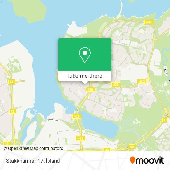 Stakkhamrar 17 map