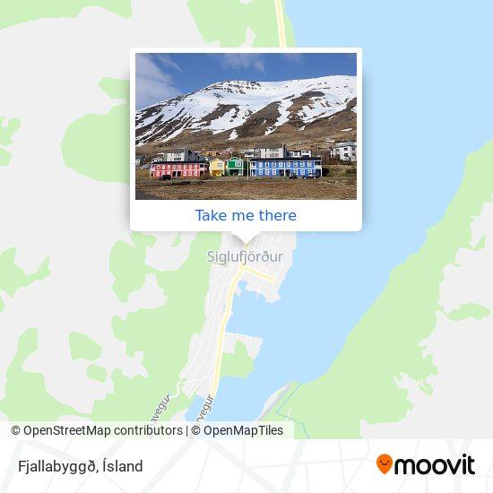Fjallabyggð map