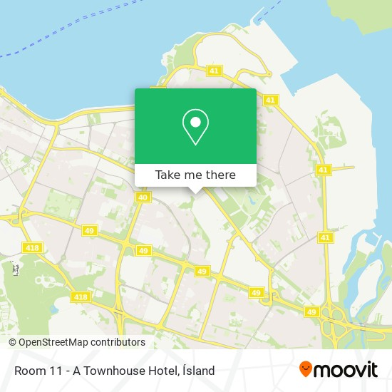 Room 11 - A Townhouse Hotel map
