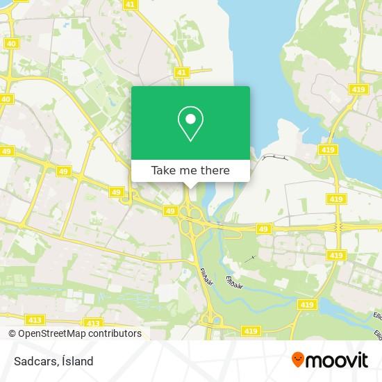 Sadcars map