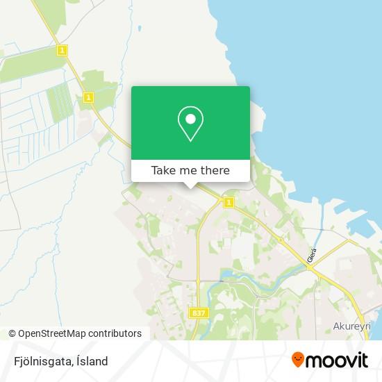 Fjölnisgata map