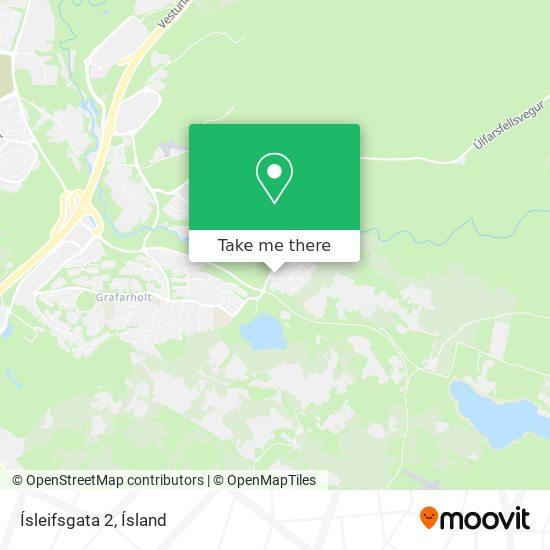 Ísleifsgata 2 map