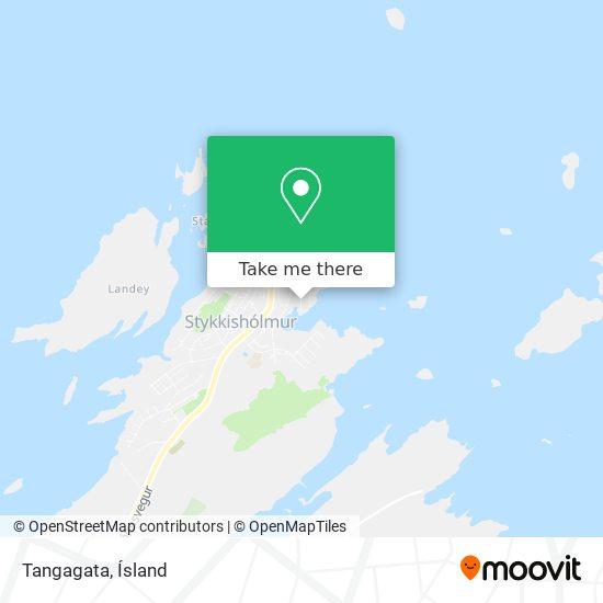 Tangagata map