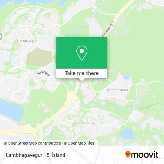 Lambhagavegur 15 map