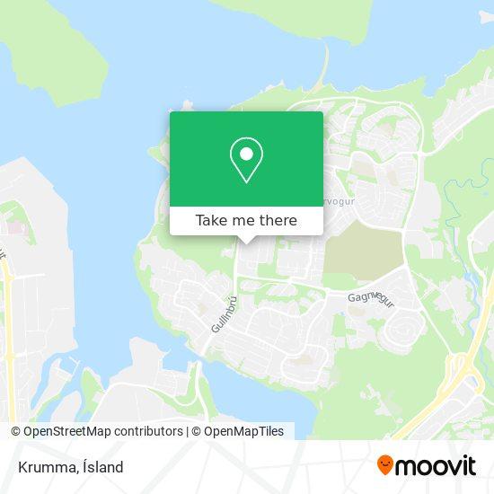 Krumma map