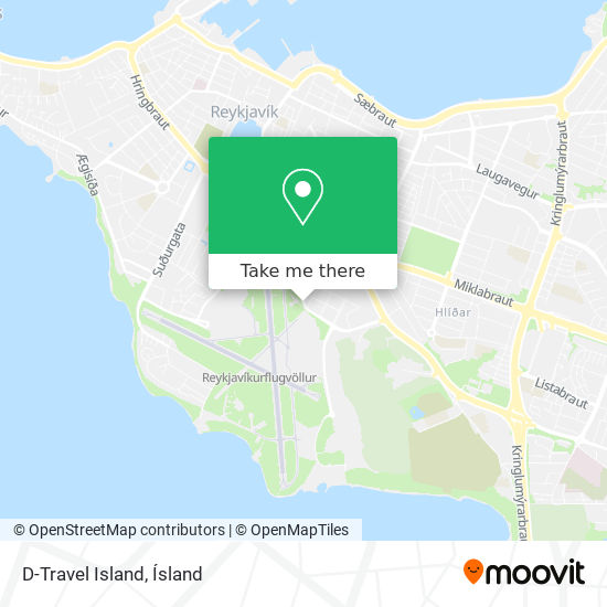 D-Travel Island map