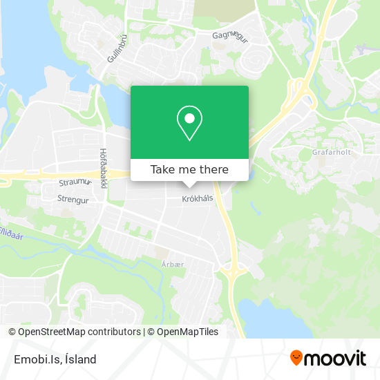 Emobi.Is map
