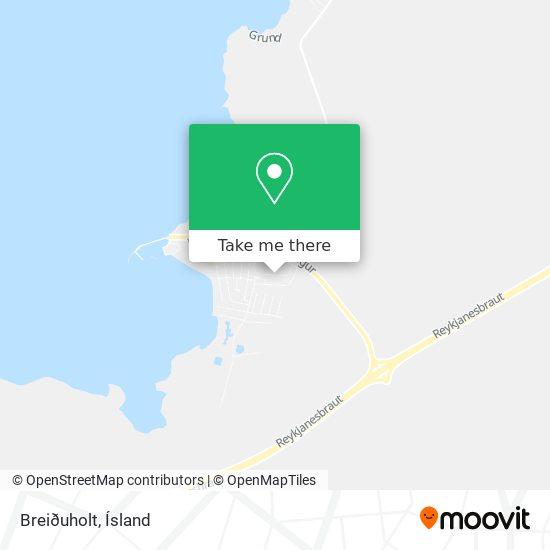 Breiðuholt map