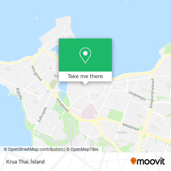 Krua Thai map