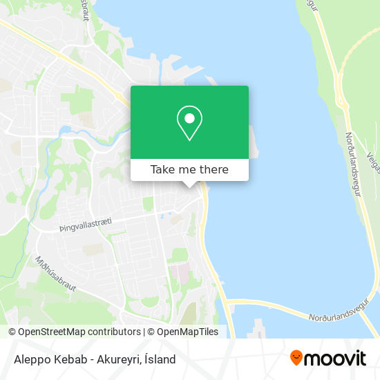 Aleppo Kebab - Akureyri map