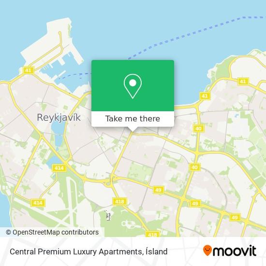 Central Premium Luxury Apartments map