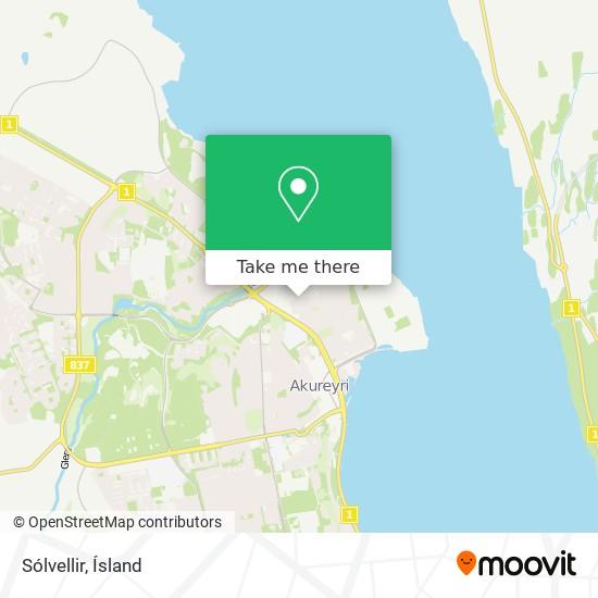 Sólvellir map