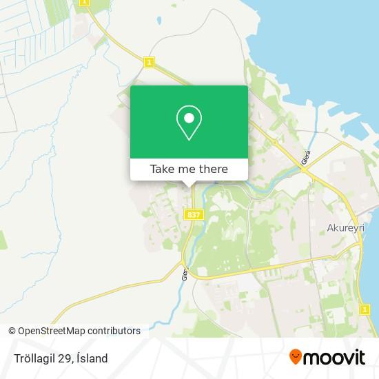 Tröllagil 29 map