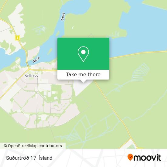 Suðurtröð 17 map
