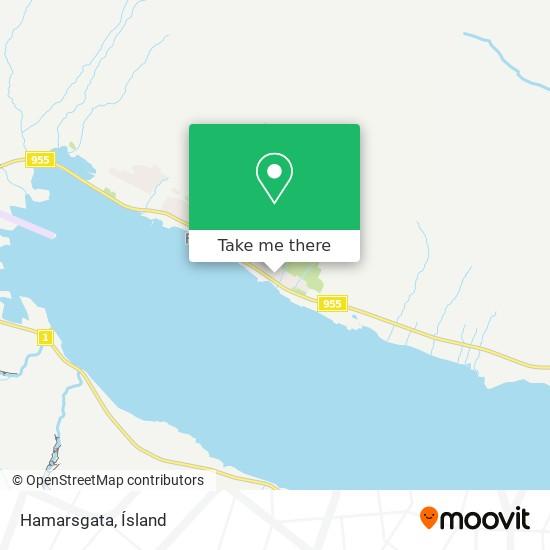 Hamarsgata map