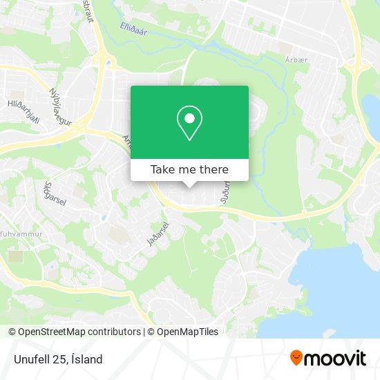 Unufell 25 map