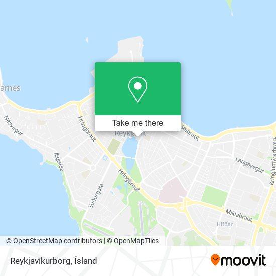 Reykjavíkurborg map