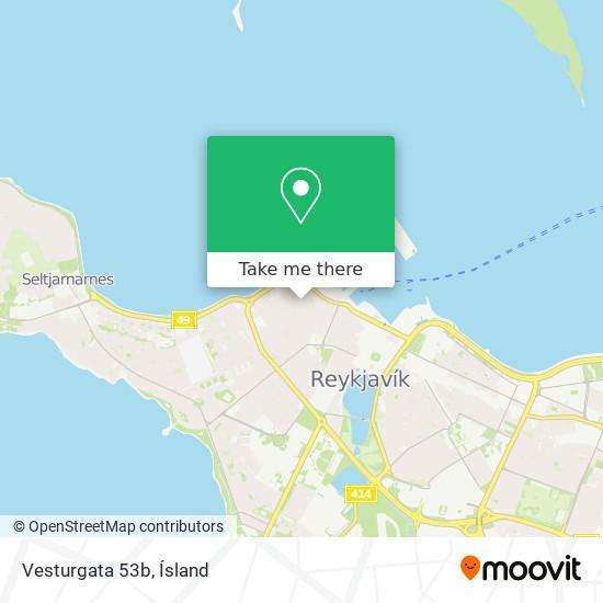 Vesturgata 53b map