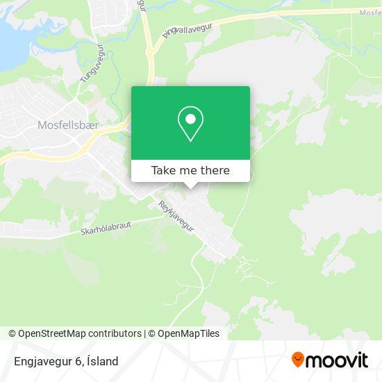 Engjavegur 6 map