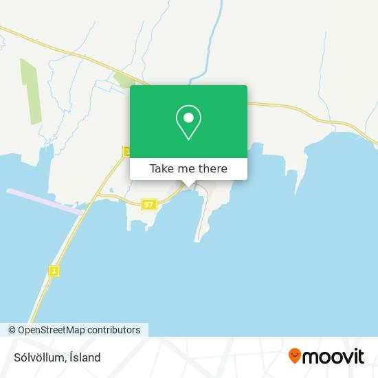 Sólvöllum map