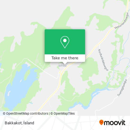 Bakkakot map
