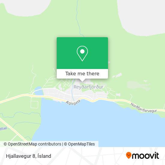 Hjallavegur 8 map