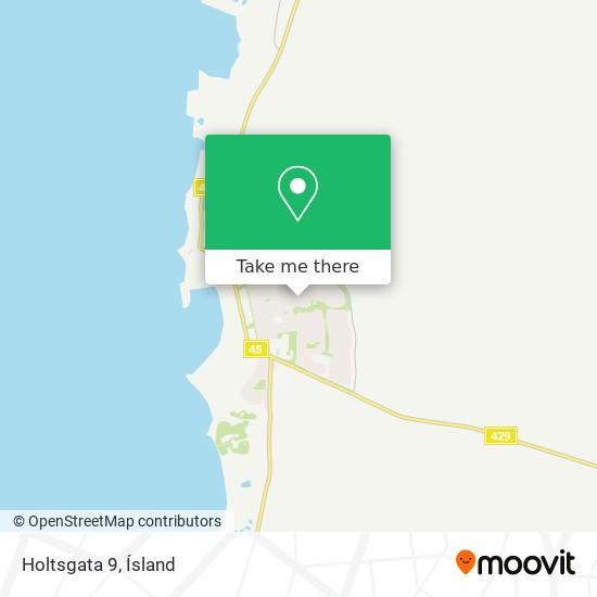 Holtsgata 9 map