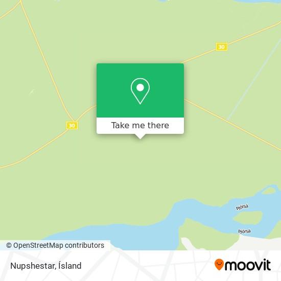 Nupshestar map