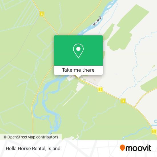 Hella Horse Rental map