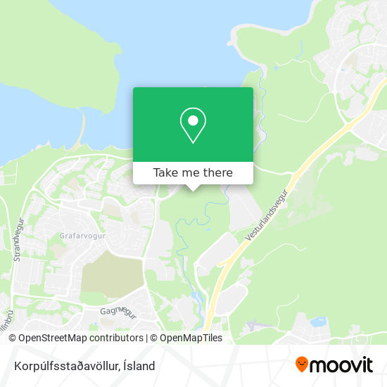 Korpúlfsstaðavöllur map