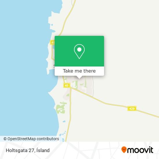 Holtsgata 27 map