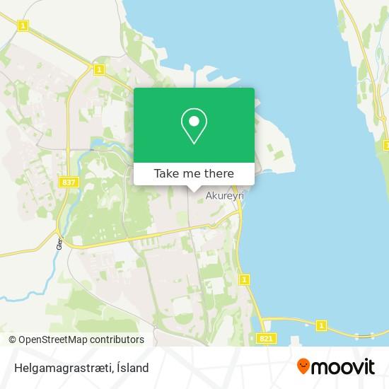 Helgamagrastræti map