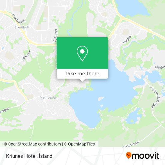 Kriunes Hotel map