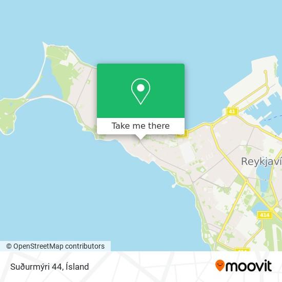 Suðurmýri 44 map