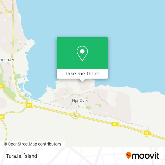 Tura.Is map