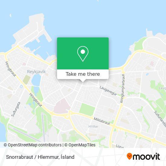Snorrabraut / Hlemmur map