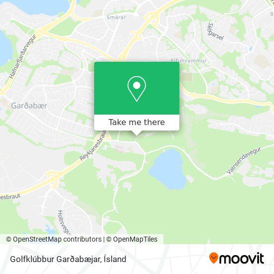 Golfklúbbur Garðabæjar map