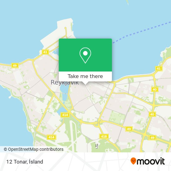 12 Tonar map