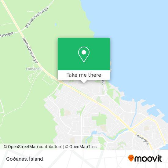 Goðanes map