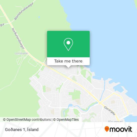 Goðanes 1 map