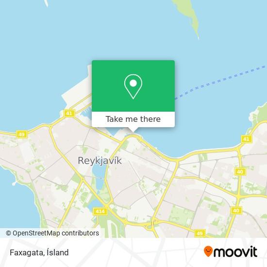 Faxagata map