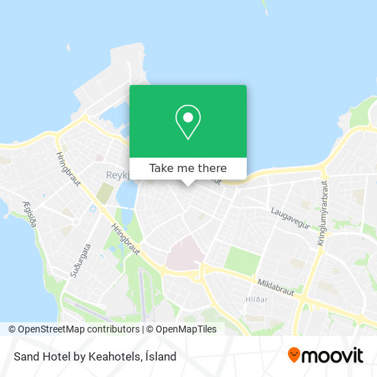 Sand Hotel by Keahotels map