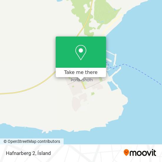Hafnarberg 2 map