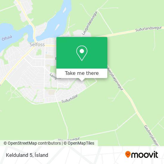 Kelduland 5 map
