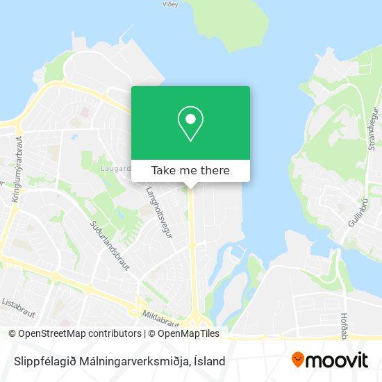 Slippfélagið Málningarverksmiðja map