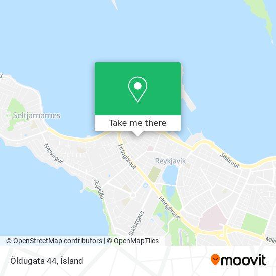 Öldugata 44 map