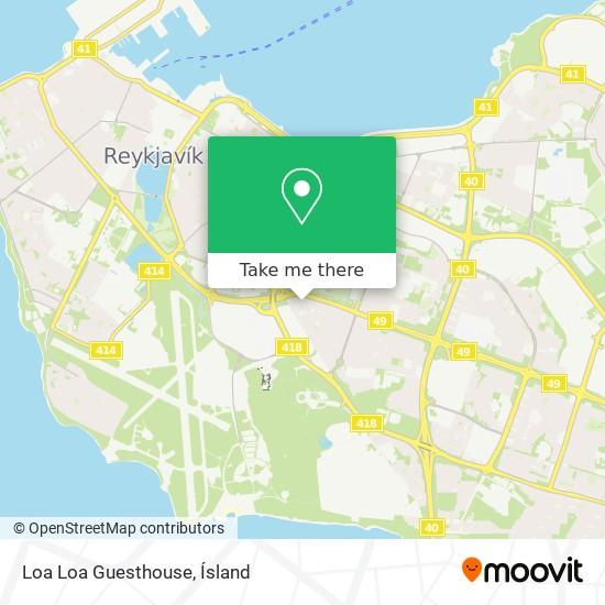 Loa Loa Guesthouse map